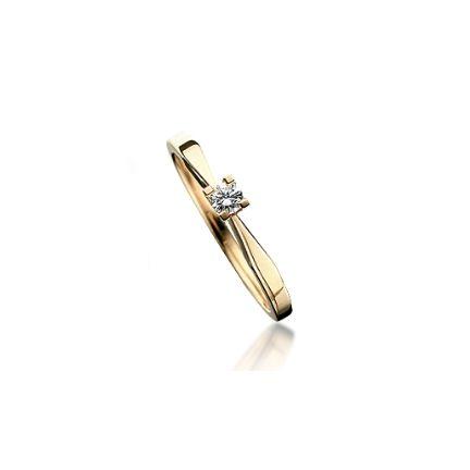 Kleopatra Ring - 0,15 rødguld - 7135,15-0