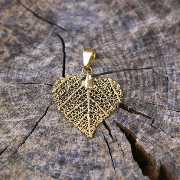 Pureleaf - morro-gold halskæde