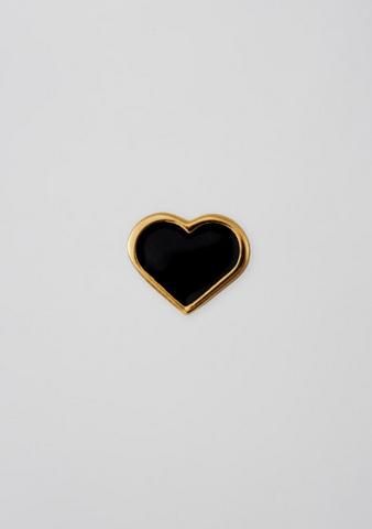 DESIGN LETTERS - Enamel Heart Charm - 972134-g