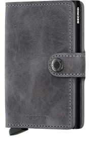 SECRID MINI WALLET - Vintage grey-black-0