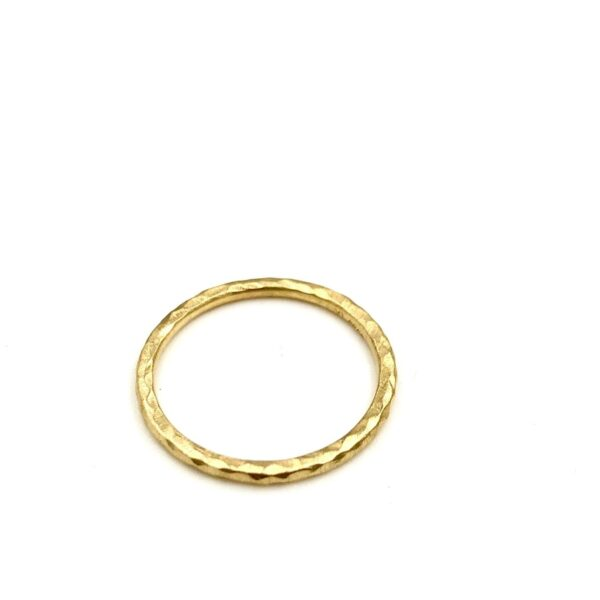 Guld Ring - Grace alliance med 3 diamanter - 7413,3