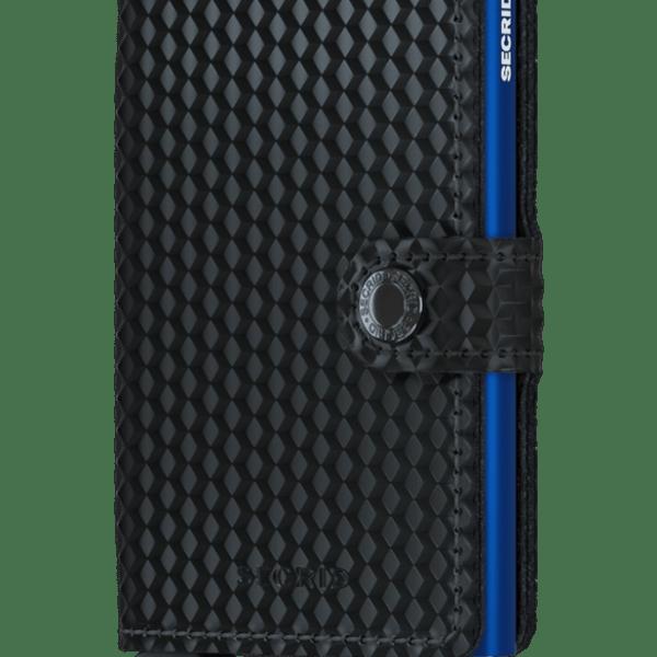 SECRID MINI WALLET - cubic black-blue - mcu-black-blue-0