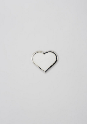 DESIGN LETTERS - Enamel Heart Charm - 972103-s